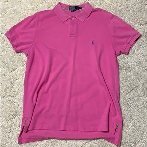 Polo by Ralph Lauren Knit Shirt Size L Custom Fit